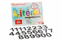 5 cm Magnetyczne Cyfry - kolor czarnym