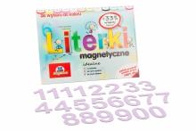 5 cm Magnetyczne Cyfry - kolor liliowy
