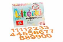 5 cm Magnetyczne Cyfry - kolor pomarańczowy
