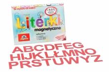 Alfabet Magnetyczny 5 cm - DUŻE Litery w kolorze czerwonym