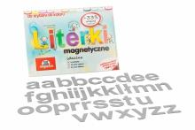 Alfabet Magnetyczny 5 cm - małe litery w kolorze szarym