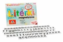 Alfabet magnetyczny 2,5 cm - małe litery - kafelki w kolorze czarnym
